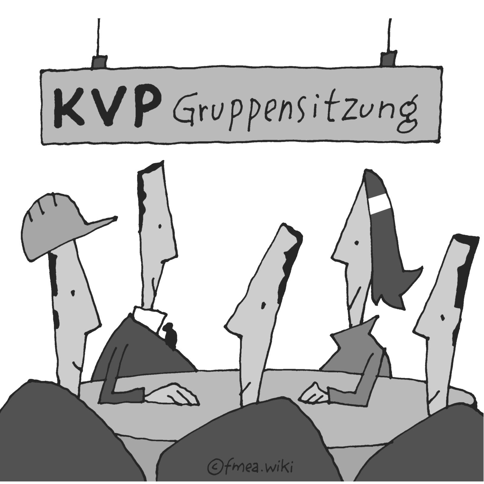 KVP Gruppensitzung